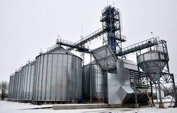 Silos für die Speicherung von grain_7 Stockfotografie