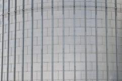 silos moderno per la conservazione del raccolto di grano Fotografie Stock Libere da Diritti