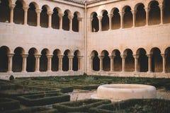 Silos Monastery Cloister, Burgos Stock Images