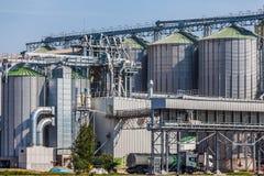 Silos per agricoltura, Danzica - Polonia Immagine Stock Libera da Diritti