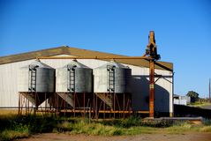 Silos, Sheds and Tanks Stock Image