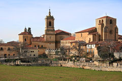 silos spain för de domingo klostersanto arkivfoton