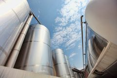 Silos and tank - industrial infrastructure
