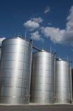 Silos. Tuscany. Wine silos, in chianti. Tuscany Royalty Free Stock Photo
