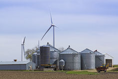 silosu wiatraczek Obraz Stock