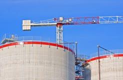 silosy budowlanych Fotografia Royalty Free