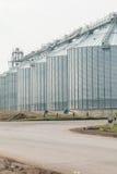 silosy dla rolniczych towarów Fotografia Royalty Free