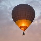 Silouette ζεστού αέρα στοκ φωτογραφία με δικαίωμα ελεύθερης χρήσης
