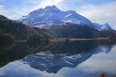 Sils-Maria im Engadin. Nietzsche's places Stock Photo