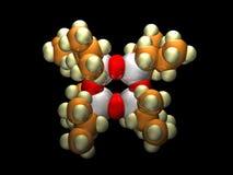Silsequioxane oligomère polyèdre Photo libre de droits