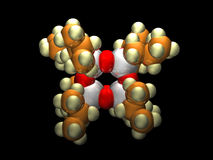Silsequioxane Oligomeric poliédrico Foto de Stock Royalty Free