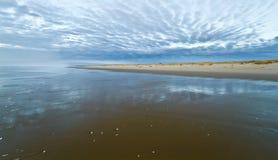 Siltcoos strand royaltyfria bilder