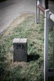 Siltoft border. The Siltoft border in Denmark royalty free stock photography