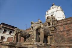 Silu Mahadev, Bhaktapur Durbar Square, Nepal Stock Image