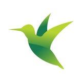 Silueta animal del logotipo del animal doméstico de la selva del pájaro salvaje del carácter geométrico del extracto del polígono Foto de archivo libre de regalías