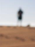 Silueta borrosa Imagen de archivo