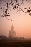 Silueta Buda Imagenes de archivo