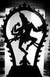 Silueta de la deidad Fotografía de archivo libre de regalías