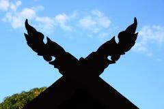 Silueta de la sombra de la forma Fotos de archivo