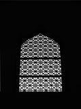 Silueta de la ventana Imagen de archivo libre de regalías