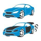 Silueta del coche libre illustration