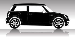 Silueta del coche Imagenes de archivo