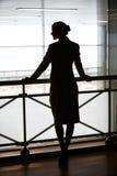 Silueta femenina Imagenes de archivo