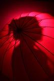 Silueta rosada Fotografía de archivo