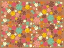 Siluetas brillantes multicoloras Imagen de archivo libre de regalías