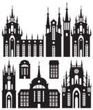 Siluetas de edificios libre illustration
