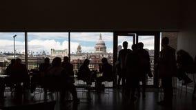 Siluetas de Londres Imagen de archivo libre de regalías