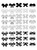 Siluetas del arco en el estilo simple EPS 10 libre illustration