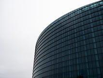 Siluetas - el Parlamento Europeo fotografía de archivo