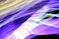 Siluetas ligeras borrosas Foto de archivo libre de regalías