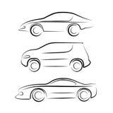 Siluetta dell'automobile royalty illustrazione gratis