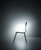 Siluetta della sedia Immagine Stock