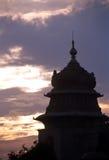Siluetta di Bangalore Fotografia Stock