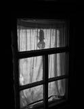 Siluetta di una lampadina Fotografie Stock Libere da Diritti