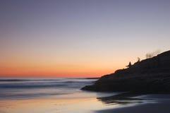 Siluetta II. di tramonto. Fotografie Stock Libere da Diritti