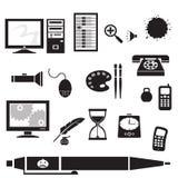 Siluetta - ufficio royalty illustrazione gratis