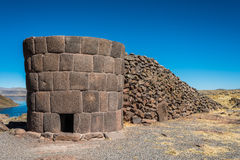 Silustani tombs Royalty Free Stock Images