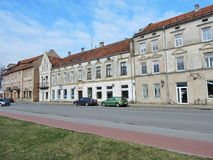 Silute镇,立陶宛 免版税图库摄影