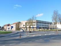 Silute镇,立陶宛 免版税库存照片