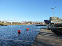 Silute Marina , Lithuania Royalty Free Stock Images