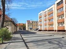 Silute miasteczko, Lithuania zdjęcie stock