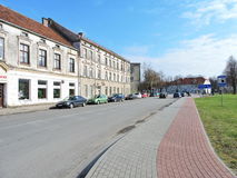 Silute town, Lithuania royalty free stock images