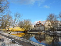Silute town  , Lithuania Royalty Free Stock Images