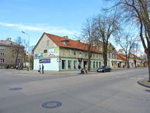 Silute town, Lithuania Stock Photography