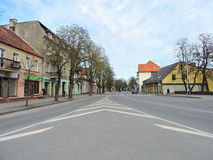 Silute town, Lithuania Stock Image