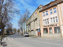 Silutestad, Litouwen royalty-vrije stock afbeelding